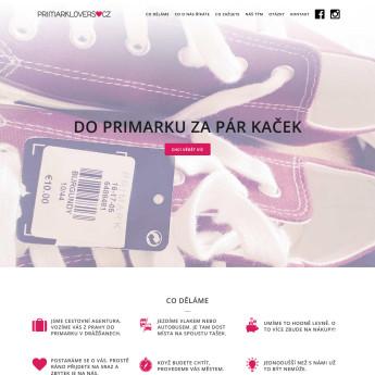 Náhled projektu Primarklovers