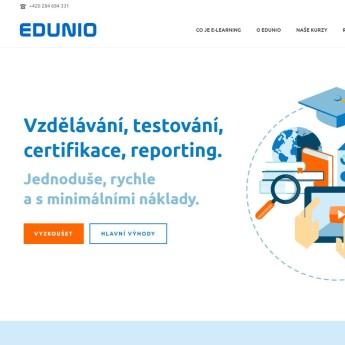 Náhled projektu EDUNIO